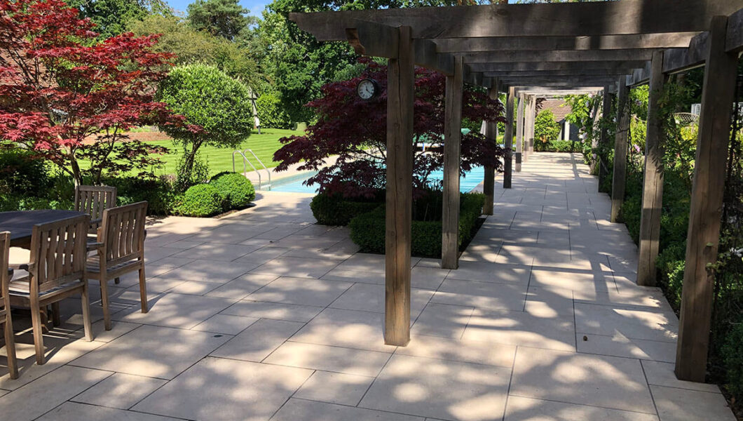 Patio with pergola by Redcliffe 02